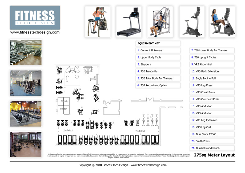 2D Gym Design amp Fitness Layout Portfolio Tech